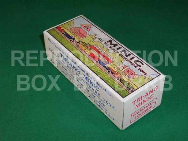 Minic #17M Vauxhall Tourer - Reproduction Box